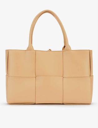 Bottega Veneta Arco small intrecciato leather tote bag