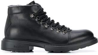 Baldinini Trimmed Chunky Heel Boots