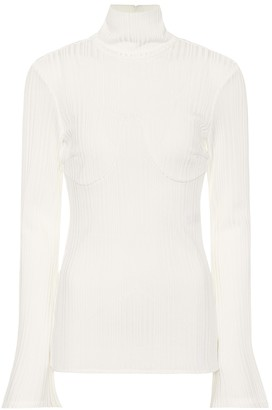 Ellery Kinetic ribbed turtleneck sweater