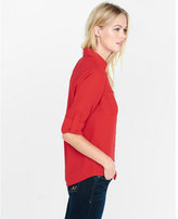Express the convertible sleeve portofino shirt