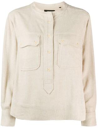 Isabel Marant Tecoyo pocket shirt