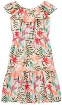 Crazy 8 Ruffle Palm Dress