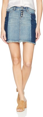 William Rast Women's Tiff 5 Pocket Denim Skirt