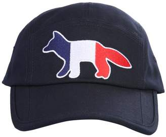 MAISON KITSUNÉ 5P Tricolour Fox Baseball Cap
