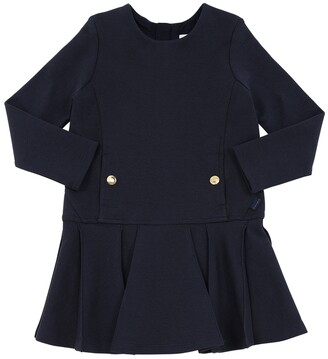 Chloé Milano Jersey Dress W/ Buttons