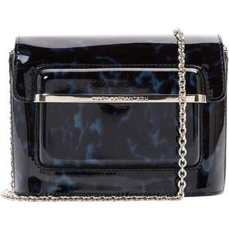 Mary Katrantzou \N Navy Patent leather Handbags