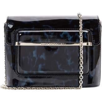 Mary Katrantzou Navy Patent leather Handbags