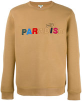 Kenzo paradise slogan sweatshirt - men - Cotton/Polyester/Spandex/Elastane/Viscose - XS