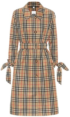 Burberry Claygate Vintage Check trench coat