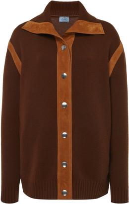 Prada Cashmere Button Down Top
