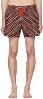 Paul Smith Black Strawberry Skull Swim Shorts
