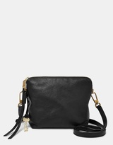Fossil Maya Black Crossbody