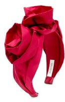 Jennifer Behr Rosette Silk Headband