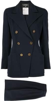 Chanel Pre-Owned Setup Suit Jacket Skirt