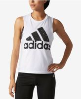 adidas Cropped Logo Tank Top