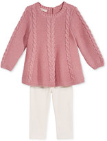 First Impressions 2-Pc. Sweater Tunic and Leggings Set, Baby Girls (0-24 months), Created for Macy's