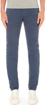 AG Jeans Stockton slim-fit skinny stretch-cotton chinos