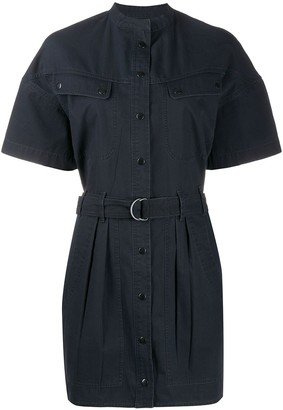 Etoile Isabel Marant Zolina belted shirt dress
