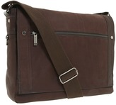 "Kenneth Cole Reaction Busi-Mess Essentials"" - Single Gusset Flapover Messenger Bag"