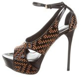Burberry Greenwich 130 Platform Sandals w/ Tags