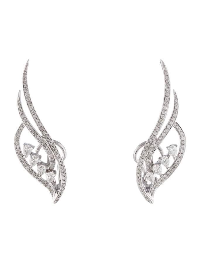As 29 White gold earrings