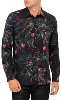 Paul Smith Cockatoo Tailored Print Shirt