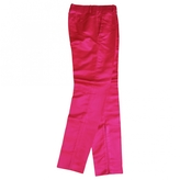 Gucci Pink Silk Trousers