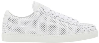 Zespà Perforated nappa leather sneakers