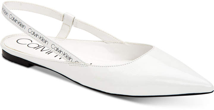 Calvin Klein Maya Slingback Sandals Women Shoes