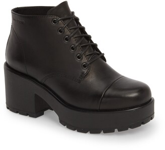 Vagabond Shoemakers Dioon Cap Toe Bootie