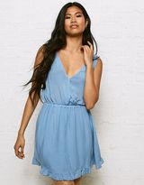 American Eagle Outfitters Don't Ask Why Ruffle Dress