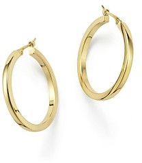 Bloomingdale's 14K Yellow Gold Square Hoop Earrings - 100% Exclusive