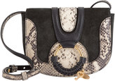 See by Chloé Hana Python Mini Shoulder Bag