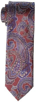 Eton Paisley Tie (Burgundy) Ties