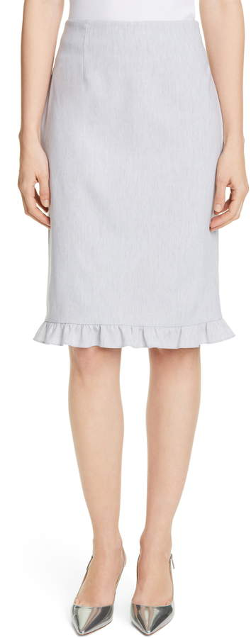 543578b1f89217 Linen Pencil Skirt - ShopStyle