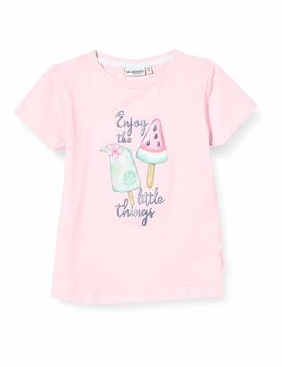 Salt&Pepper Salt and Pepper Girls' EIS Druck mit Glitzerdruck T-Shirt