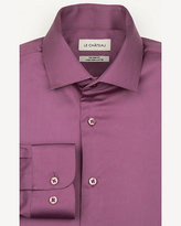 Le Château Stretch Cotton Sateen Tailored Fit Shirt