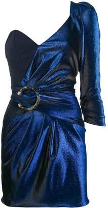 Elisabetta Franchi asymmetric one-sleeve dress