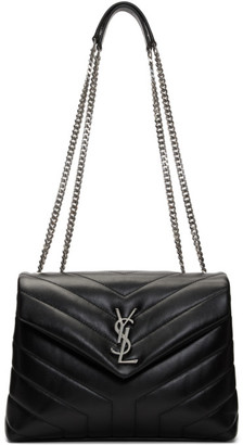 Saint Laurent Black Small Loulou Bag