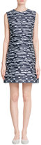 Jil Sander Navy Printed Shift Dress