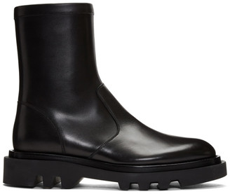 Givenchy Black Combat Boots