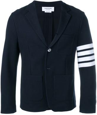 Thom Browne 4-bar Tech Piqué Sport Coat