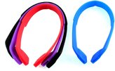 uxcell Silicone Elastic Eyeglasses Straps Sports Band Cord Holder 4Pcs
