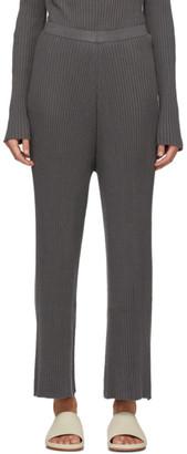 LAUREN MANOOGIAN Grey Column Lounge Pants