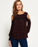 Superdry Fern Cold Shoulder Blouse