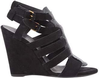 Balenciaga \N Black Suede Heels