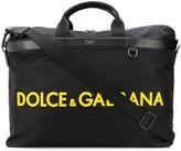 Dolce & Gabbana logo print holdall