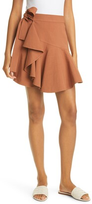 A.L.C. Adelaide Side Tie Wrap Skirt