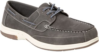 Deer Stags Men's Memory Foam Lace Up Boat ShoeOxfords - Mitch