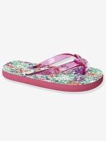 Vertbaudet Girl's Flip-Flops with Flowers
